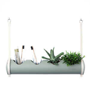 herbster tube green bathroom